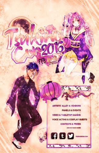 Tsukino-Con 2016 poster art