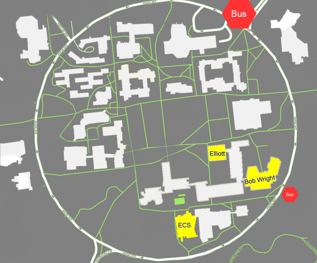 University Map Tsukino-Con 2018